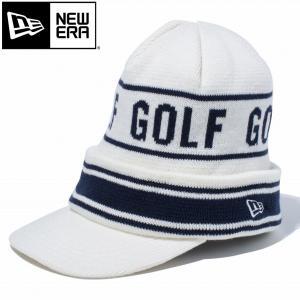 ニューエラ ゴルフウェア メンズ ニットキャップ 11781150 2018秋冬|g-zone