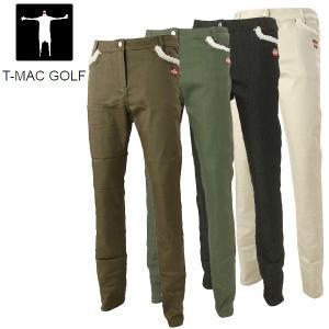 ティーマック レディース ゴルフウェア ロングパンツ B67W T-MAC 秋冬|g-zone
