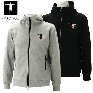 ティーマック メンズ ゴルフウェア スウェットパーカー J71 T-MAC 秋冬|g-zone