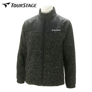 ツアーステージ ゴルフウェア メンズ フリースジャケット KTT91D 秋冬|g-zone