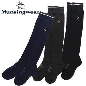 マンシングウェア ゴルフウェア レディース ニーハイソックス MGCMJB08 Munsingwear 2018秋冬|g-zone