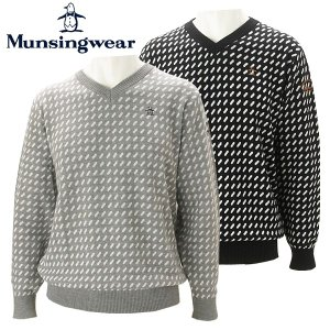 マンシングウェア ゴルフウェア メンズ セーター MGMMJL15 Munsingwear 2018秋冬|g-zone