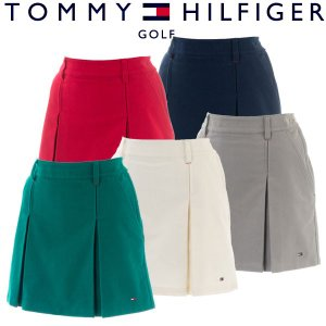 トミーヒルフィガー ゴルフウェア レディース ショートパンツ THLA866 秋冬|g-zone