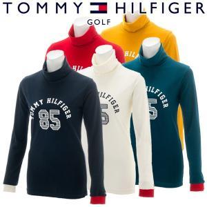 トミーヒルフィガー ゴルフウェア レディース 長袖タートルネックシャツ THLA884 秋冬|g-zone