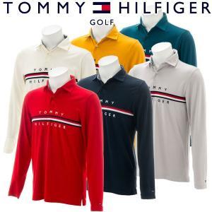 トミーヒルフィガー ゴルフウェア メンズ 長袖ポロシャツ THMA8A1 2018秋冬 g-zone