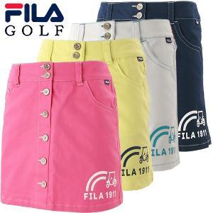 フィラ ゴルフウェア レディース スカート 758-306 春夏 19sbn|g-zone