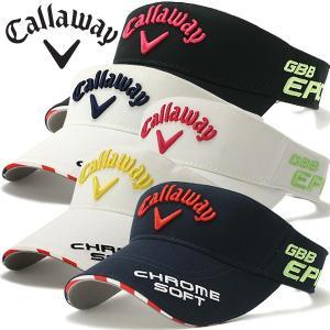 キャロウェイ ゴルフウェア レディース バイザー 8990900 春夏|g-zone