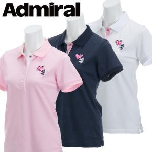 アドミラル ゴルフウェア レディース 半袖 ポロシャツ ADLA811 春夏 19sbn|g-zone