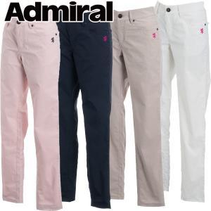 アドミラル ゴルフウェア レディース ストレートパンツ ADLA812 春夏 19sbn|g-zone