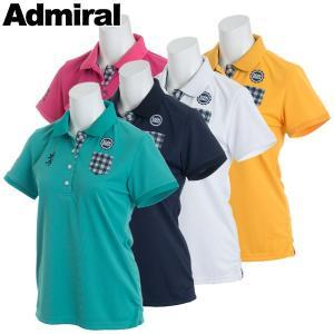 アドミラル ゴルフウェア レディース 半袖ポロシャツ ADLA822 春夏 19sbn|g-zone