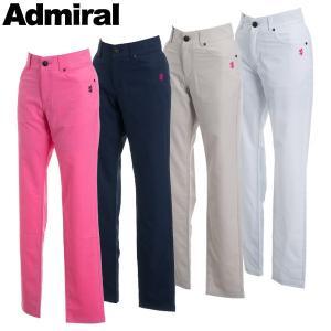アドミラル ゴルフウェア レディース ロングパンツ ADLA841 春夏 19sbn|g-zone