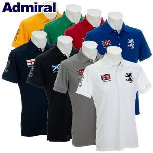 アドミラル ゴルフウェア メンズ ポロシャツ ADMA833 2019春夏 継続|g-zone