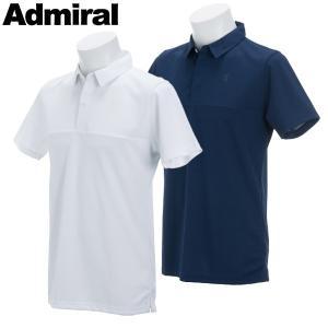 アドミラル ゴルフウェア メンズ 半袖シャツ ADMA861 春夏 19sbn|g-zone