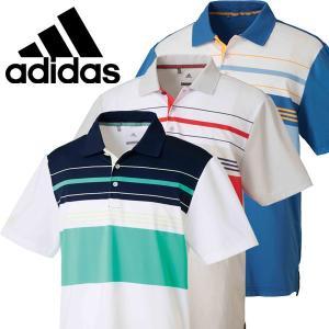 アディダス ゴルフ ゴルフウェア メンズ 半袖ポロシャツ DRE61 春夏|g-zone