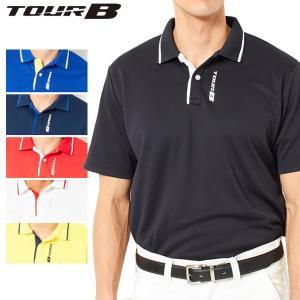 ブリヂストンゴルフ TOUR B ゴルフウェア メンズ 半袖ポロシャツ JGM01A 春夏 19sbn|g-zone