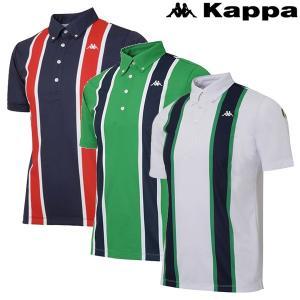 カッパ ゴルフウェア メンズ 半袖シャツ KG812SS41 春夏|g-zone