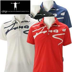 ティーマック メンズ ゴルフウェア 半袖ポロシャツ P03 T-MAC 春夏|g-zone