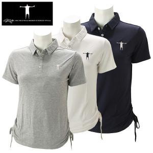 ティーマック レディース ゴルフウェア 半袖ポロシャツ P03W T-MAC 春夏|g-zone