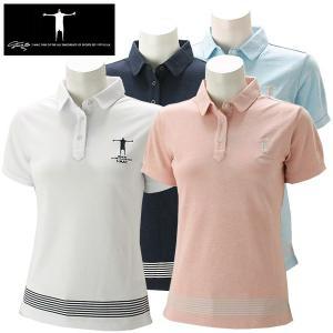 ティーマック レディース ゴルフウェア 半袖ポロシャツ P05W T-MAC 春夏|g-zone