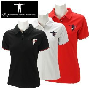 ティーマック レディース ゴルフウェア 半袖ポロシャツ P07W T-MAC 春夏|g-zone
