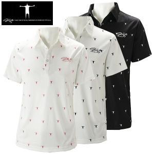 ティーマック メンズ ゴルフウェア 半袖ポロシャツ P08 T-MAC 春夏|g-zone