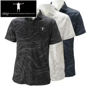 ティーマック メンズ ゴルフウェア 半袖ポロシャツ P10 T-MAC 春夏|g-zone