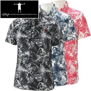 ティーマック メンズ ゴルフウェア 半袖ポロシャツ P11 T-MAC 春夏|g-zone