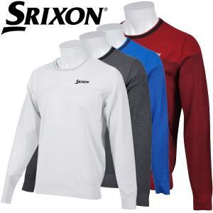 スリクソン ゴルフウェア メンズ クルーネックセーター RGMLJL02 春夏|g-zone