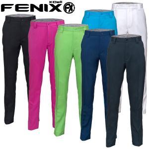 フェニックス ゴルフウェア メンズ ロングパンツ FX BLOCK TROUSERS RM0022 春夏 19sbn|g-zone