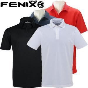 フェニックス ゴルフウェア メンズ 半袖ポロシャツ FX BANNER RM0119 春夏|g-zone