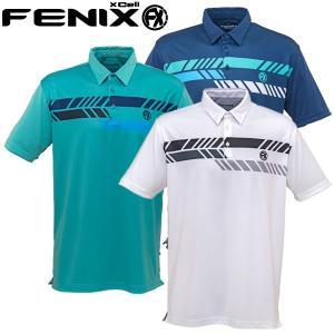 フェニックス ゴルフウェア メンズ 半袖ポロシャツ FX CLYDE RM0162 春夏|g-zone