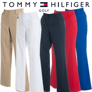 トミーヒルフィガー ゴルフウェア レディース ロングパンツ THLA822 春夏 19sbn|g-zone