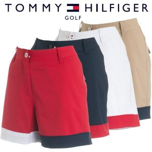 トミーヒルフィガー ゴルフウェア レディース ショートパンツ THLA824 春夏 19sbn|g-zone
