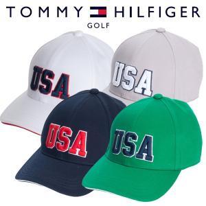 トミーヒルフィガー ゴルフウェア キャップ THMB803F 春夏 19sbn|g-zone