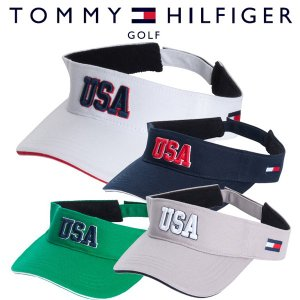 トミーヒルフィガー ゴルフウェア バイザー THMB804F 春夏 19sbn|g-zone