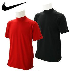 【期間限定】 ナイキ ゴルフウェア メンズ 半袖モックネックシャツ BQ6724 2019  USAモデル|g-zone