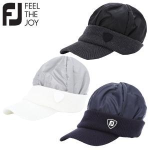 フットジョイ ゴルフ FJ 防風中わたニットキャップ 帽子 メンズ FJHW1913 2019モデル|g-zone