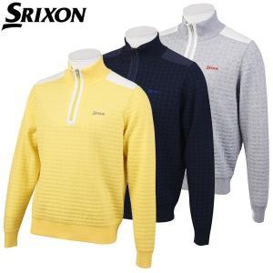 スリクソン ゴルフウェア メンズ ハーフジップセーター RGMOJL01 SRIXON 2019秋冬|g-zone