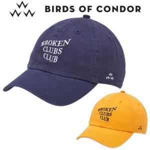 バーズオブコンドル ゴルフウェア メンズ キャップ TEMC9F07 バードオブコンドル 2019秋冬|g-zone
