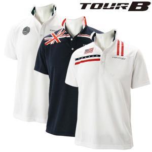 数量限定 ブリヂストンゴルフ TOUR B ゴルフウェア メンズ 19年メジャー連動半袖ポロシャツ 3GNT1A 2019春夏|g-zone