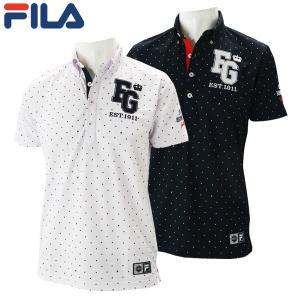 フィラ ゴルフウェア メンズ 半袖ポロシャツ 749-604 2019春夏 30%OFF|g-zone