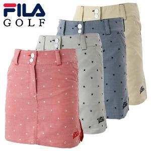 フィラ ゴルフウェア レディース スカート 759-314 2019春夏|g-zone