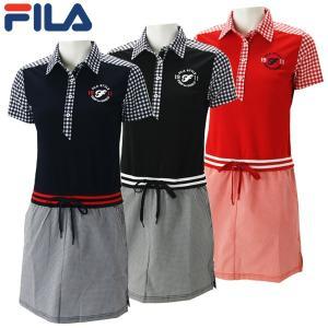 フィラ ゴルフウェア レディース ワンピース 759-401 2019春夏 30%OFF|g-zone