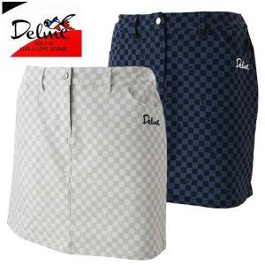 デルメ レディース ゴルフウェア スカート DL-B45W Delme 2019春夏 40%OFF g-zone