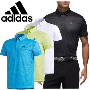 アディダス ゴルフ ウェア メンズ 半袖ボタンダウンシャツ FVE71 2019春夏|g-zone