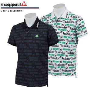 ルコック ゴルフウェア メンズ 半袖ポロシャツ QGMNJA31LA ランドリーコラボモデル 2019春夏 30%OFF|g-zone