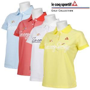 ルコック ゴルフウェア レディース 半袖ポロシャツ QGWNJA11 2019春夏 30%OFF|g-zone