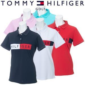 トミーヒルフィガー ゴルフウェア レディース 半袖ポロシャツ THLA908 2019春夏 30%OFF g-zone