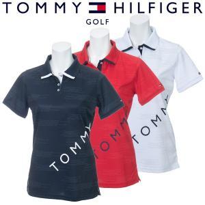 トミーヒルフィガー ゴルフウェア レディース 半袖ポロシャツ THLA911 2019春夏 30%OFF g-zone