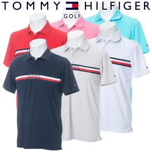 トミーヒルフィガー ゴルフウェア メンズ 半袖ポロシャツ THMA911 2019春夏 g-zone